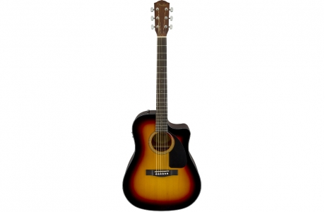 Fender CD-60CE Brown Sunburst