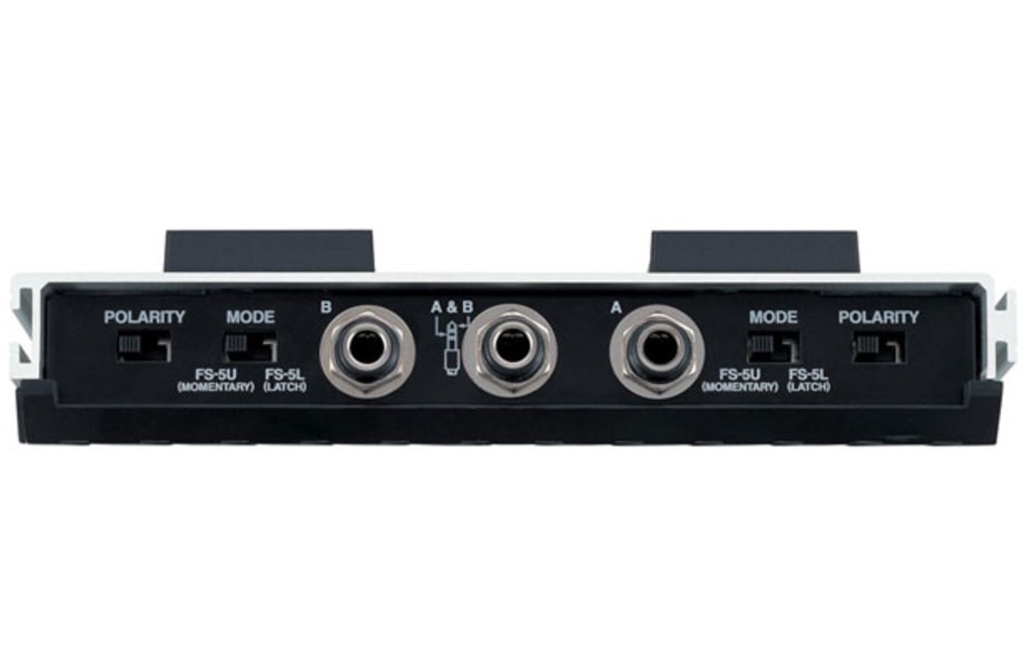 fs 6 Comments about boss fs-7 dual footswitch: if you own a roland amp, this is the footswitch you want the amps use a momentary switch, not latching, like most other amps i tried the fs-6, but didn't like it because it will only work with a battery.